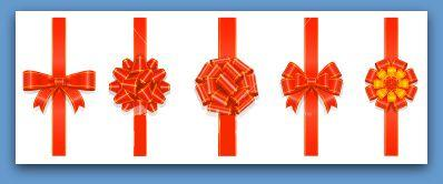Cadeauter offrir un cadeau offrir du plaisir - Comment faire un joli noeud ...